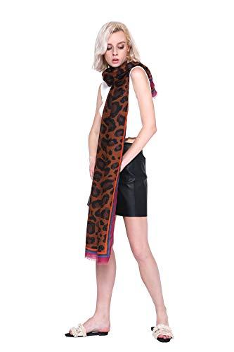 Longwu Idea regalo da donna Sciarpa lunga cotone Sciarpe da donna Fazzoletto da passeggio estivo Fazzoletto da collo da donna Primavera Autunno