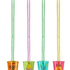 Shot Glass Kostüm - Boland NEU Shot-Glas Hawaii, sortierte Farben
