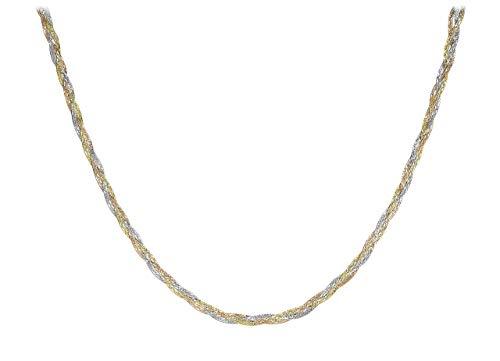 Carissima Gold Collana da Donna Oro Giallo Bianco Rosso 9K 43