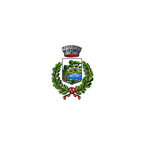 AL PRODUCTION Comune di Piscina Mis. 150x220 Bandiera in Tessuto Nautico Confezionata con Corda E Guaina
