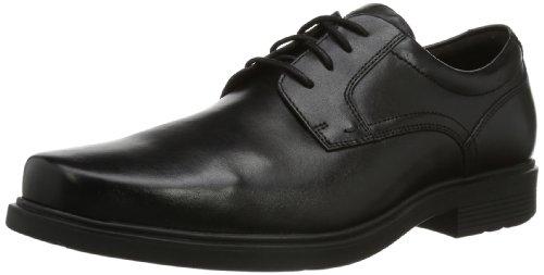 Rockport STYLE TIP Plain Toe, Herren Derby Schnürhalbschuhe Schwarz (Black)