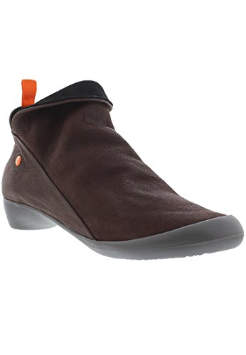 softinos FARAH smooth/suede combi HW17 Dunkelbraun