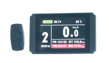 KT-LCD8H Display Tacho für eBike, Pedelec, Scooter 24V/36V/48V