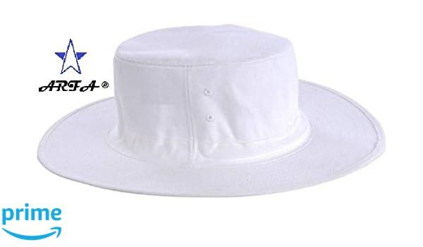 5bbda247d2d Buy ARFA Aaina Unisex Cotton Cricket Umpire Hat (White