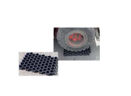 Preisvergleich Produktbild Paddockplatte - 50 x 40 x 4 cm - schwarz