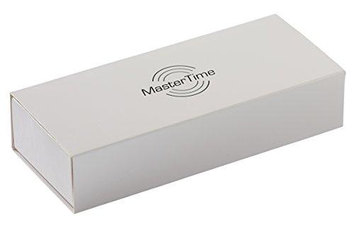Master Time Funk Quarz Damen Uhr Analog-Digital mit Leder Armband MTLA-10295-12L - 4
