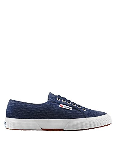 Superga - 2750 Cotbouclerbrw, Sneaker Donna Blue Navy