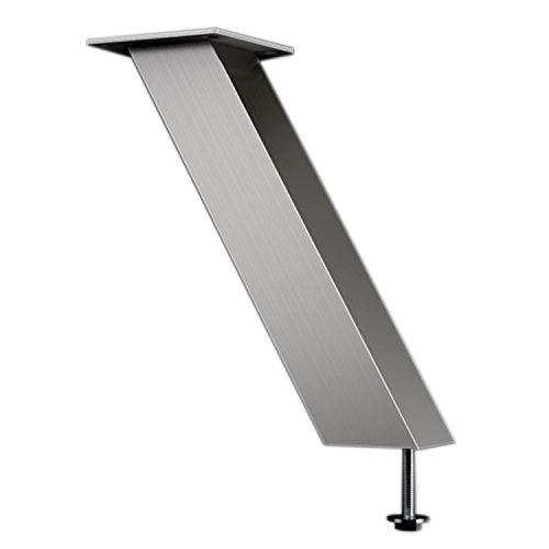 Console bar Effet Capri Oblique 60° | 50x 50mm-acier inoxydable-Hauteur: 170mm-1pièce
