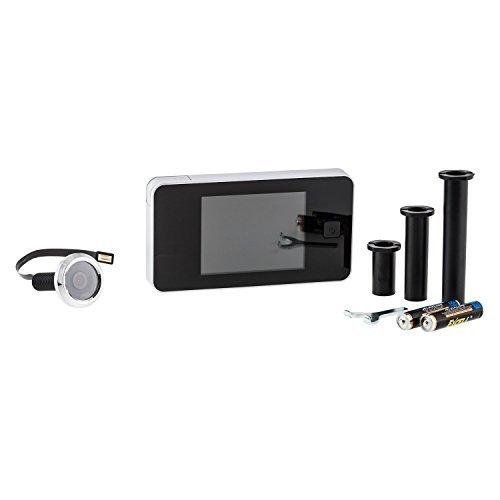 Digitaler Türspion 3,2 Zoll LCD Farbdisplay für Türstärken von 38 - 110 mm Mm Digital Video