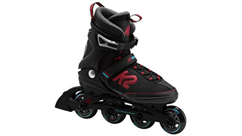 K2 Inline-Skates FREEDOM M 1 Black-Red 8,5