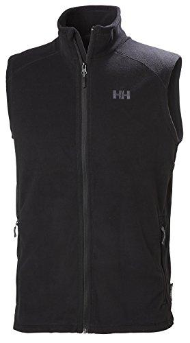 Helly Hansen Hombre Daybreaker Vest Forro Polar, otoño/Invierno, Hombre, Color 990 Negro, tamaño Medium