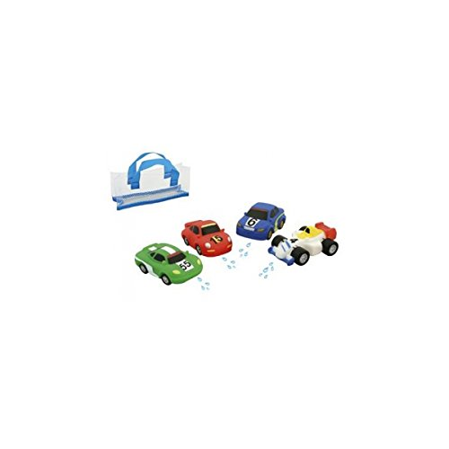 DAM Set 4 Coches Waterworld 6120299
