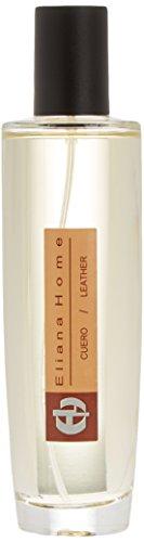 Eliana Home Spray ambientador de 100 ML Cuero, Aceites Esenciales aromatizados, 3.90x3.90x16.00 cm
