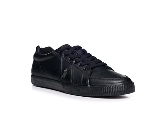 Polo Ralph Lauren Hugh Homme Baskets Mode Noir size 43