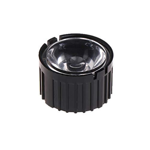 5//15//30//45//60//90//120 Grado Obiettivo Riflettore Collimatore con Supporto per 1-5W LED BIlinli 10 Pz