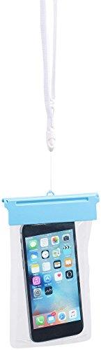"""Somikon Smartphonetasche: Wasserdichte Universal-Tasche für iPhone & Smartphone bis 12,2cm/4,8"""" (Unterwasser Schutzhüllen IP7/IP8)"""