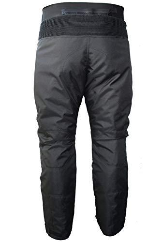 92bc1902 ... German Wear GW350T - Pantalones de Moto, Negro, 56 EU/2XL: Tamaño ...
