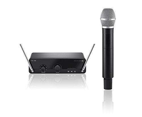 beyerdynamic TG 100 Handheld Set Drahtlosmikrofon (geeignet für Gesang und Sprache, 174-184 MHz) -