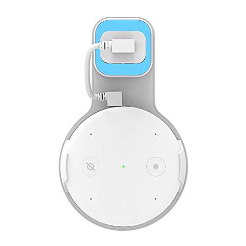 LILIGOD Smart Speaker Wall Plug Netzteilhalter Zubehör Lautsprecher Wandstecker Halterung Amazon Smart Home Zubehör Multifunktional Power Halterung -