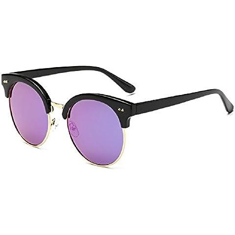 o-c mujeres de moda y colores polarizadas gafas de sol 56mm