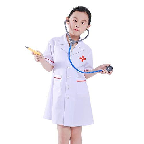 Professionelle Kostüm Kinder - Dubleir Doktorrollenspielset, Professionelles Kostüm für Kinder von Doktoren, Doktor-Kostüm für Bühnenkostüme