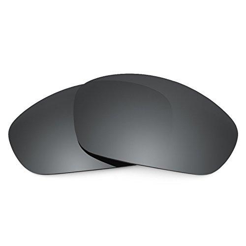 Revant Ersatzlinsen für Oakley Straight Jacket (2007) Polarisierung Elite Schwarz Chrom MirrorShield®