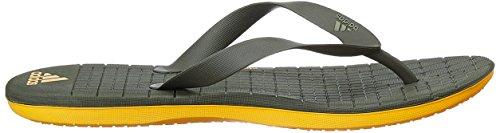adidas Herren Eezay Cf Pantoletten, Schwarz / Weiß (Negbas / Ftwbla / Negbas) grau
