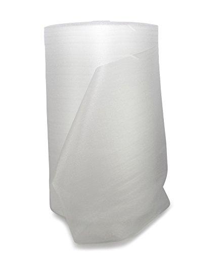 Schaumpolsterfolie Rolle weiß 125 cm x 500 m x 1,0 mm / 20 kg/m³ ** Verpackungseinheit: 1 Rolle **
