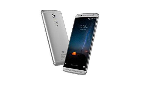 "ZTE Axon 7 Mini - Smartphone libre de 5,2"" (4G, Qualcomm MSM8952, 3 GB RAM, almacenamiento interno de 32 GB, Bluetooth, WiFi, Android), color gris platino"