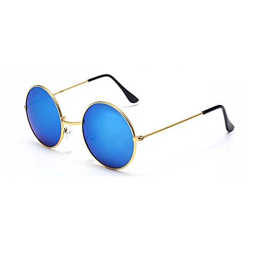 Sonnenbrille Sonnenbrille Frauen Männer Universal Polarisierte Runde Brille Flut UV400 Anti-Glare...