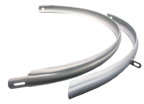"""CURANA CLite Schutzblech 28"""" 40 mm Silber 2018 Schutzblech Set"""