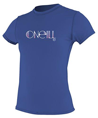 O 'Neill Neoprenanzug Damen UV Sun Schutz Skins Short Sleeve Tee Rashguard, Herren, pacific (Short Sleeve Tee Surf)