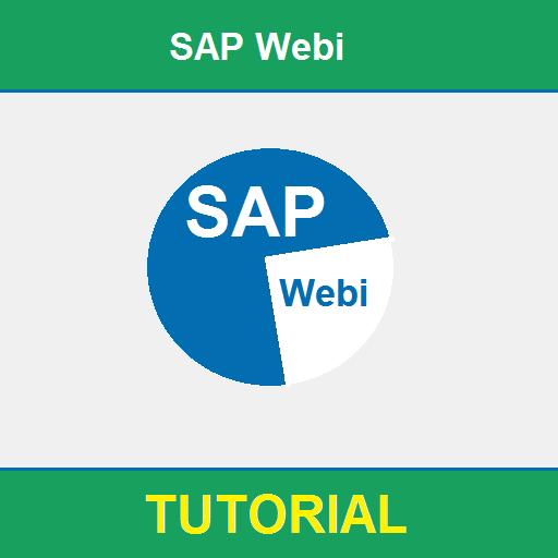 SAP Webi Tutorial
