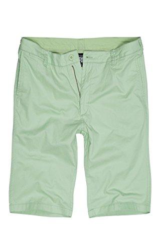 Double5 Kurze Hosen Herren Modell BRYAN   Chino Shorts Slim Fit aus fein gewebter Baumwolle   Sommer Hose kurz für Männer Applegreen W36 (Shorts Baumwolle Gewebte)