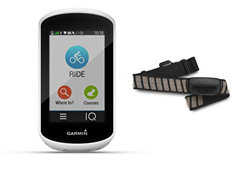 Garmin Edge Explore - GPS-Fahrradcomputer - Bundle inkl. Herzfrequenzbrustgurt HRM Premium