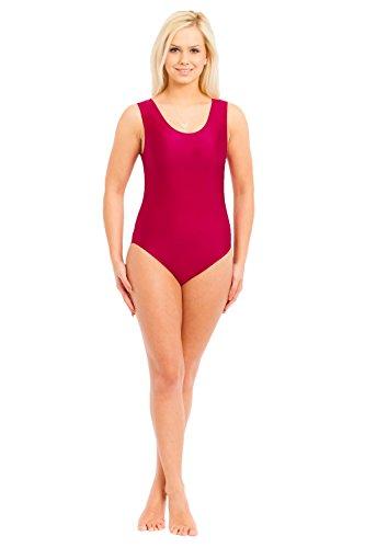 Turnarena Kinder Spandex Body ohne Arm, Größe:116;Farbe:neongrün