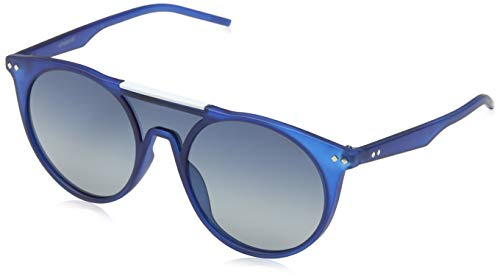 Polaroid PLD 6022/S Z7 TJC, Gafas de sol Unisex Adulto, Azul Bluette SF  Polar, 99