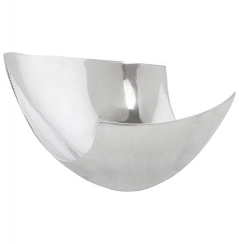 Casa Padrino Aluminium Schale 31 x 26 cm - Designer Obstschale