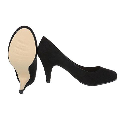 Ital-Design - Scarpe chiuse Donna Nero