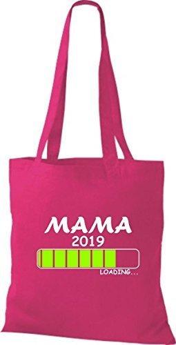 Camicia In Tessuto Borsa In Cotone Borsa Caricamento Mamma 2019 Fucsia