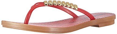 Grendha Acai Print Tong, Infradito donna, Rosso (Rot (Red/Red 90062)), 38