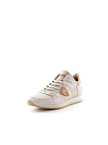 PHILIPPE MODEL PARIS TRLD VP14 TROPEZ LD VIP BRONZE SNEAKERS Femme Bronze