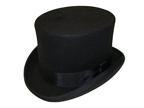 Haute qualité 100%  laine Chapeau neuf neuf livré dans une boîte doublée de SATIN Bleu - Bleu marine