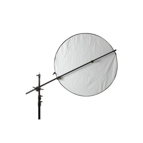 Delamax Supporto per riflettori rotondi e quadrati di 10-165 cm (con testa di fissaggio)