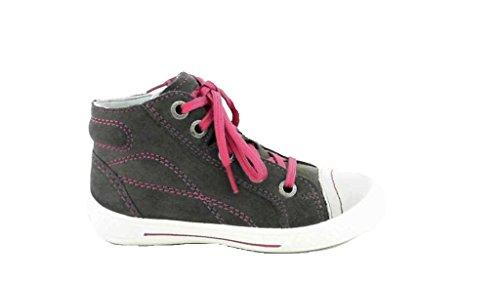 Superfit Sneaker high Tensy, Farbe: grau/pink Grau/Pink