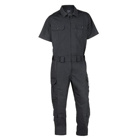 5.11 Men's Taclite EMS Short Sleeve Jumpsuit, Black,