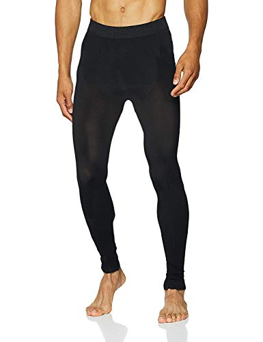Sundried Performance Herrentrainingshose für Gym Yoga Sports Running - Herren Winter Leggings (Schwarz, M)