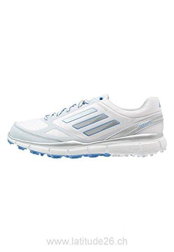 Adidas W adizero Sport Scarpe donna - bianco/III grigio/blu Bianco (weiss/grau/blau)