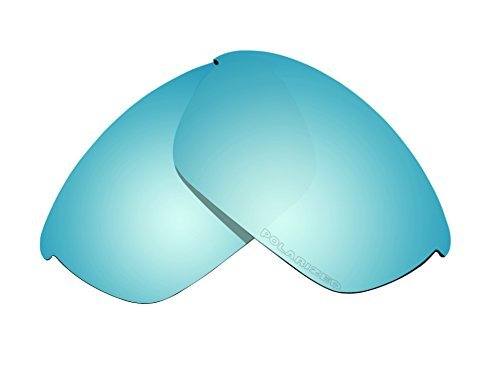 Sunglass Polarized Lenses Replacement for Oakley Half Jacket 2.0 OO9144 Sunglasses (Blue Mirror Coatings) by BVANQ
