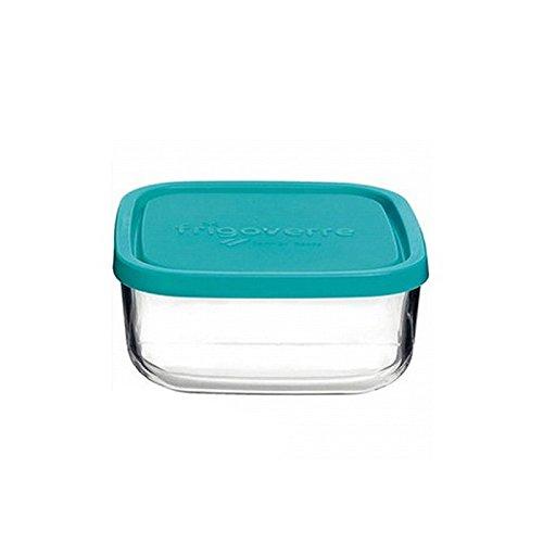 Contenitore per alimenti in vetro TEMPERATO conservare frigorifero freezer Bormioli Frigoverre quadra 22x22 C